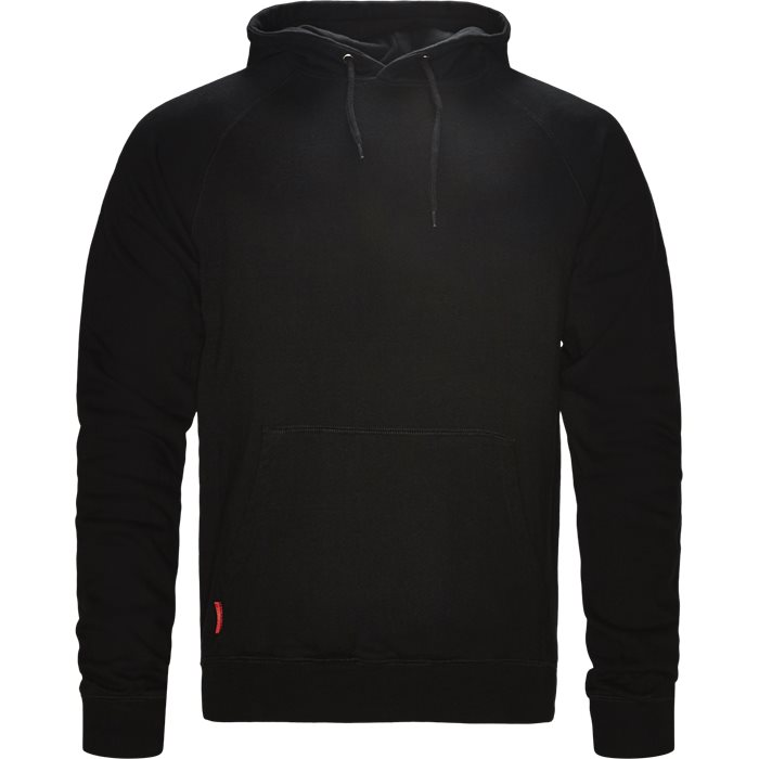 Kandy Hood - Sweatshirts - Regular - Sort