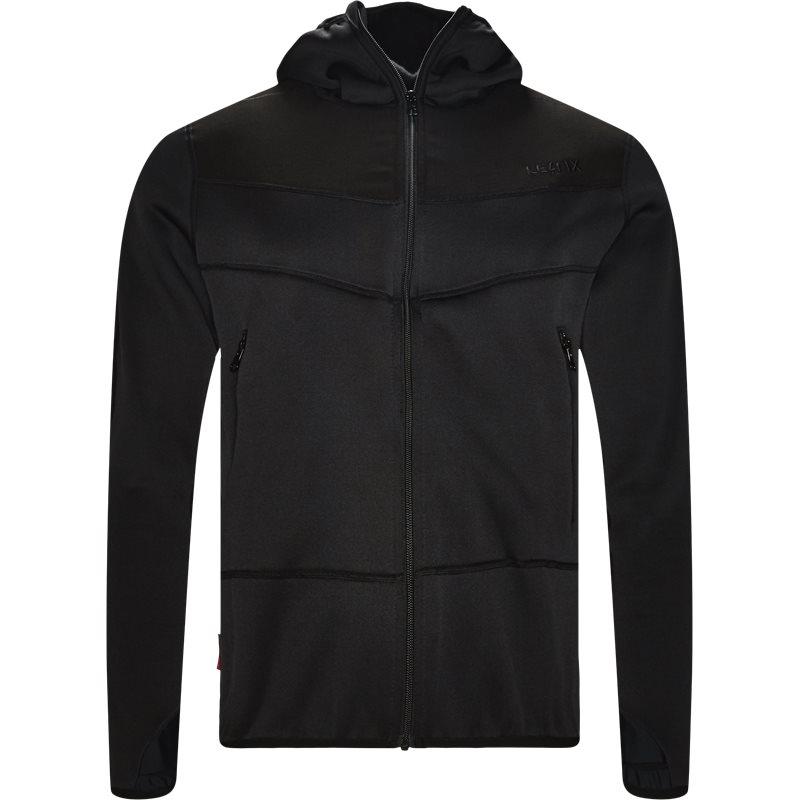 le fix – Le fix army hood jacket sort på quint.dk