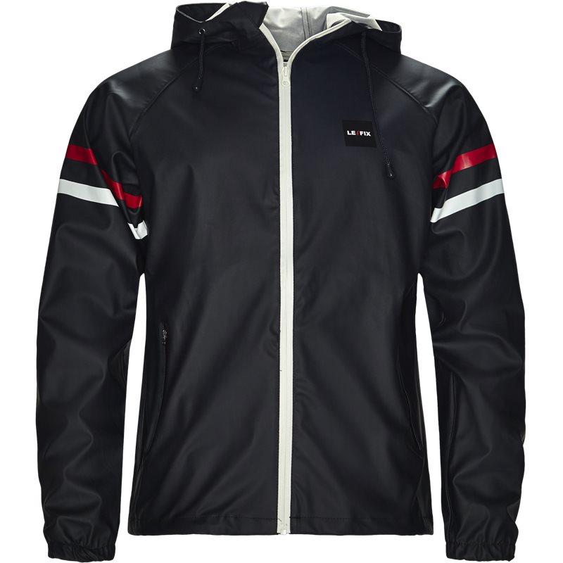 Le fix lf rain jacket navy fra le fix på quint.dk