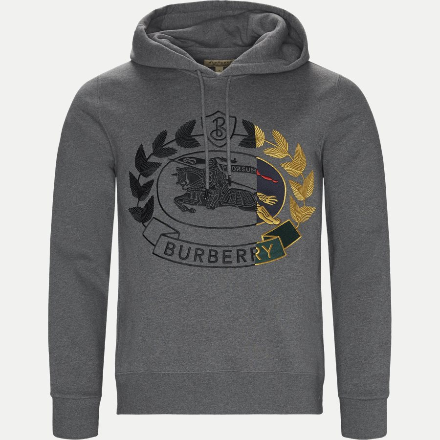 8007075 - Sweatshirt  - Sweatshirts - Regular - GRÅ - 1