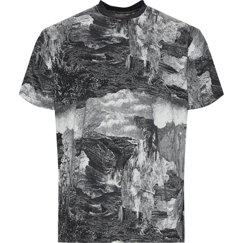 Billede af Burberry Regular fit 8007076 T-shirts Sort