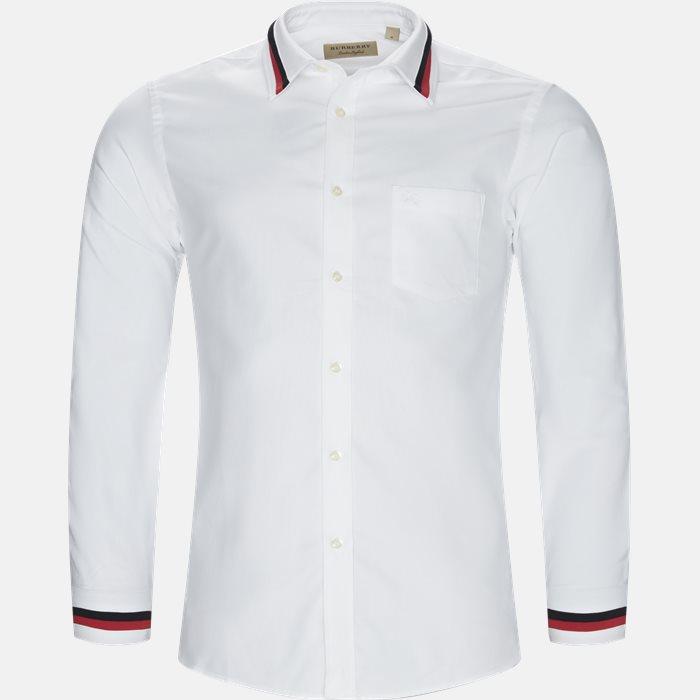 Skjorter - Regular fit - Hvid