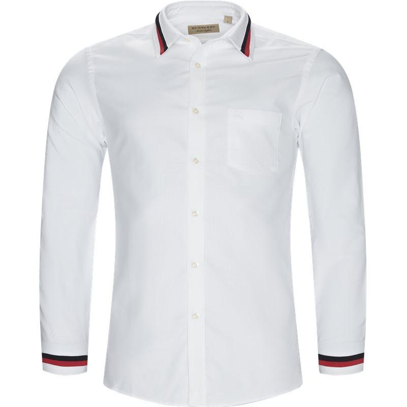 Billede af Burberry Regular fit 8004964 Skjorter Hvid