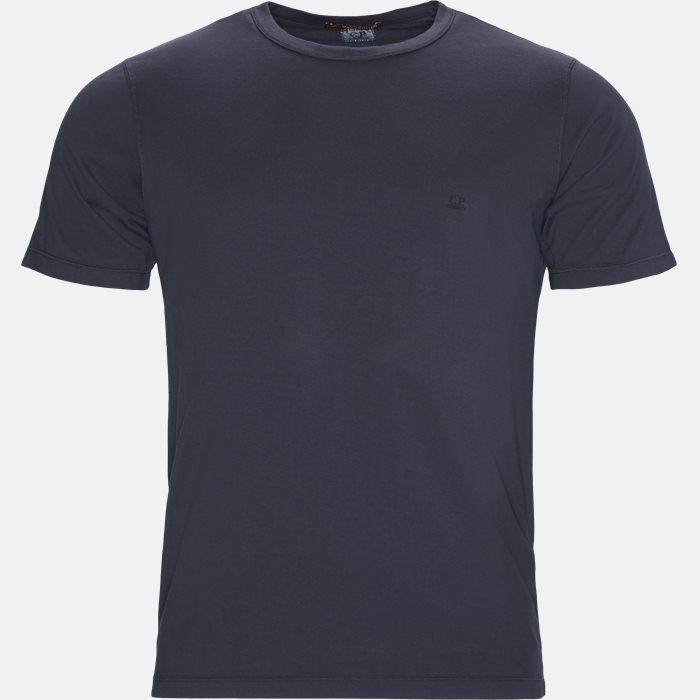 Mako Jersey Crew Neck T-shirt - T-shirts - Regular - Blå