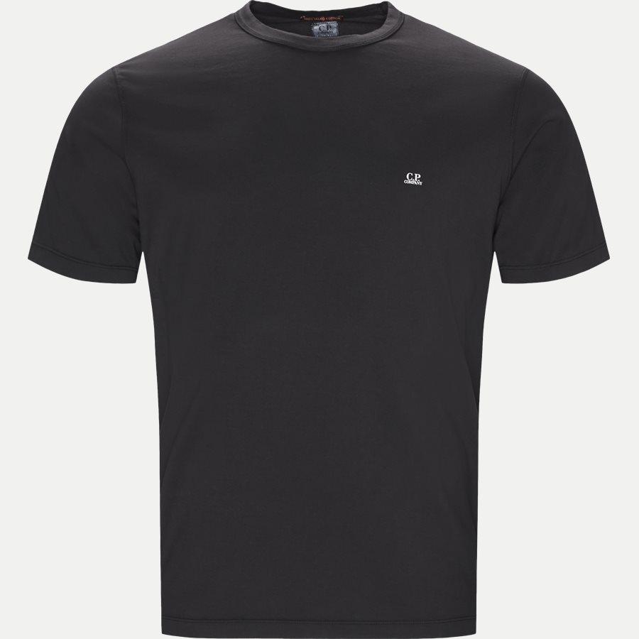 TS054A 000444G - Mako Jersey Crew Neck T-shirt - T-shirts - Regular - SORT - 1