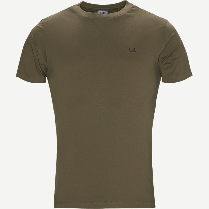 Jersey 30/1 Crewneck T-shirt - T-shirts - Regular - Army