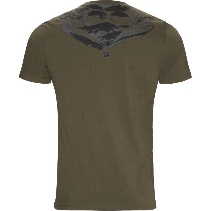 Billede af C.P. Company Jersey 30/1 Crewneck T-shirt Oliven