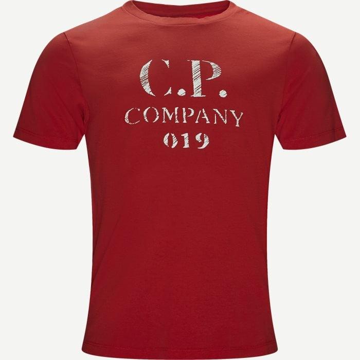 Short Sleeve Jersey T-shirt - T-shirts - Regular - Rød