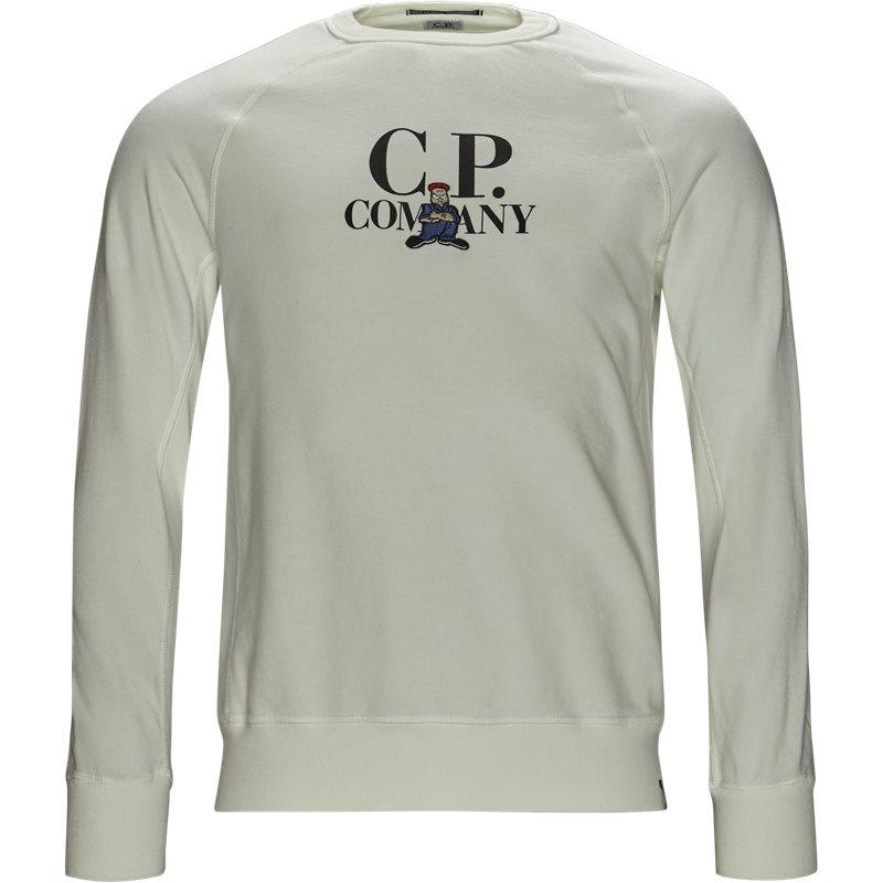 Billede af C.P. Company Crew Neck Sweatshirt Hvid