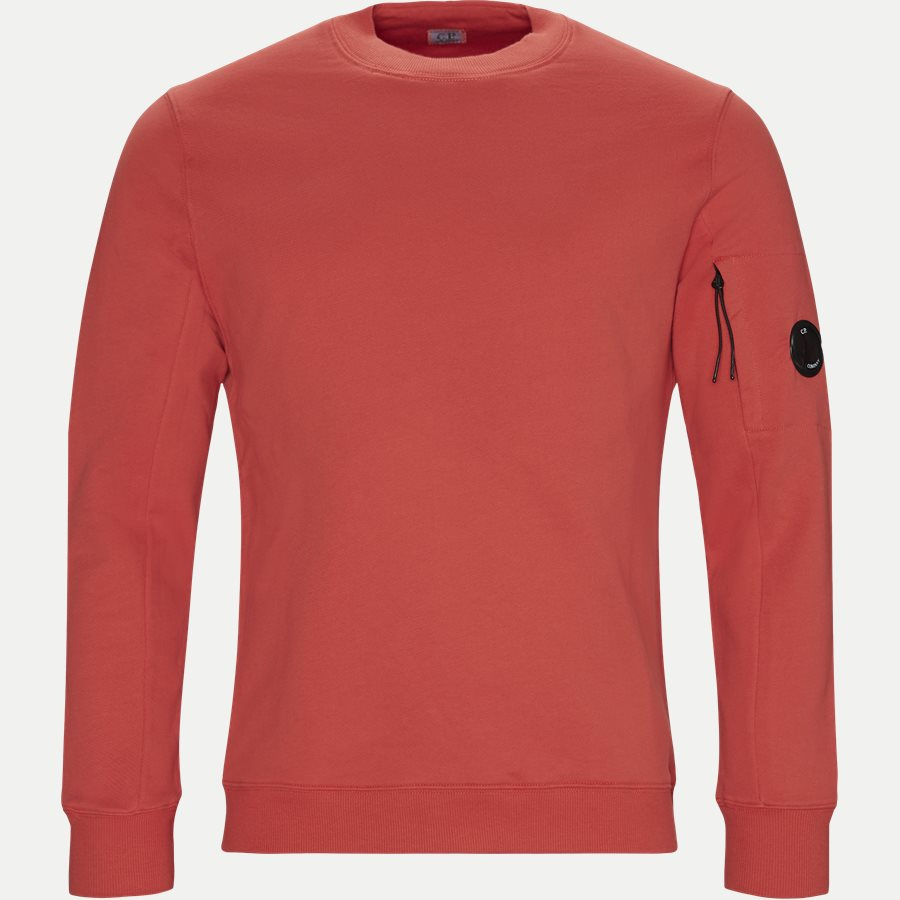 SS209A 005160W - Crew Neck Diagonal Fleece Sweatshirt - Sweatshirts - Regular - RØD - 1