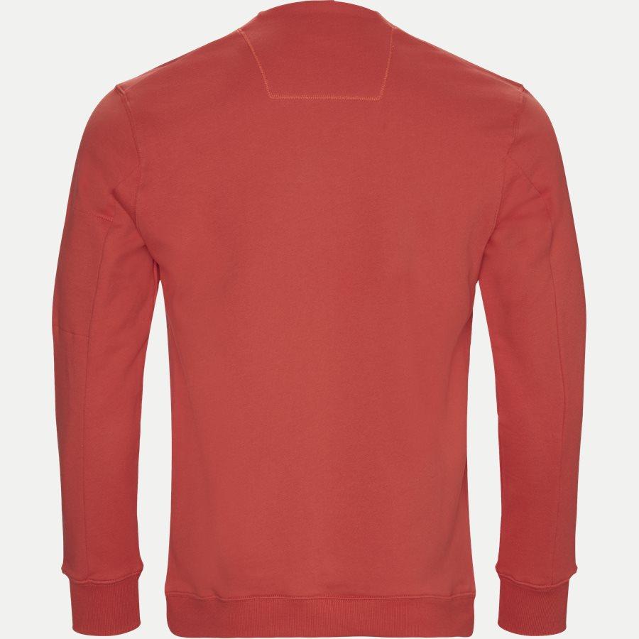 SS209A 005160W - Crew Neck Diagonal Fleece Sweatshirt - Sweatshirts - Regular - RØD - 2