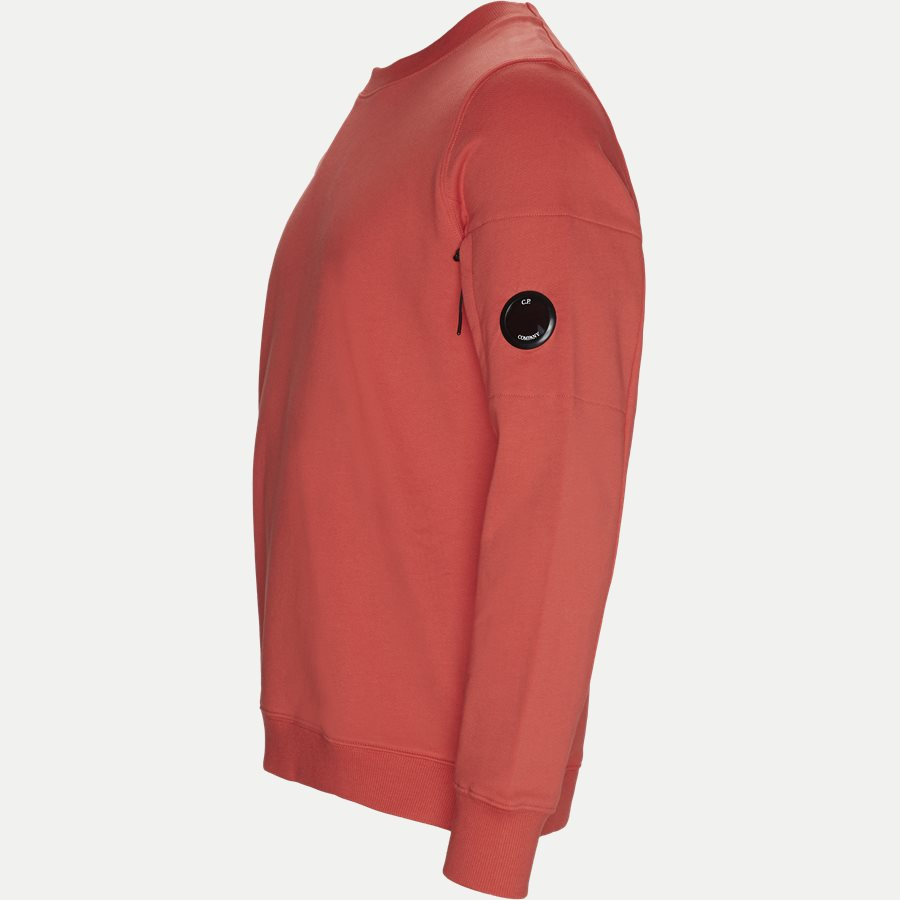 SS209A 005160W - Crew Neck Diagonal Fleece Sweatshirt - Sweatshirts - Regular fit - RØD - 4