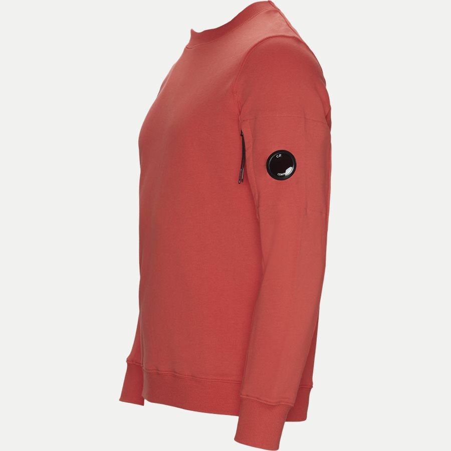 SS209A 005160W - Crew Neck Diagonal Fleece Sweatshirt - Sweatshirts - Regular fit - RØD - 5