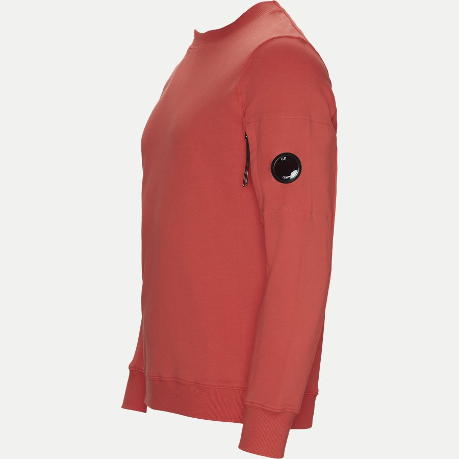 SS209A 005160W - Crew Neck Diagonal Fleece Sweatshirt - Sweatshirts - Regular - RØD - 5