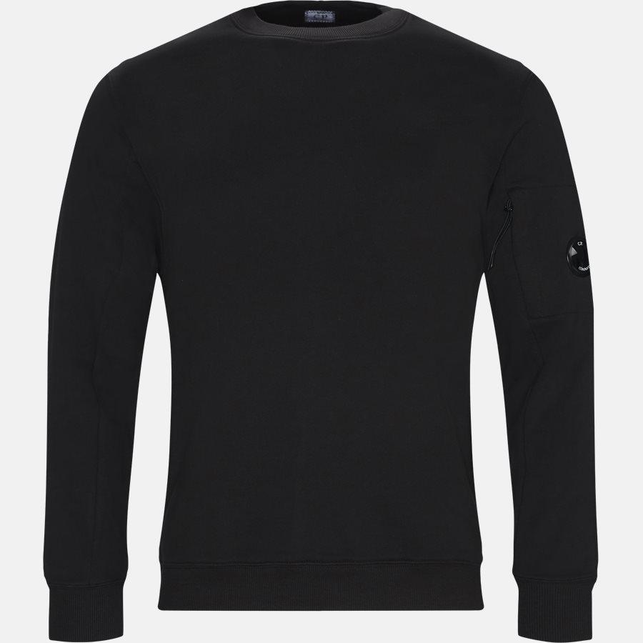 SS209A 005160W - Crew Neck Diagonal Fleece Sweatshirt - Sweatshirts - Regular - SORT - 1