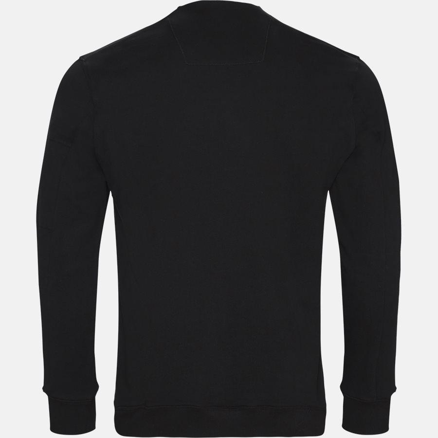 SS209A 005160W - Crew Neck Diagonal Fleece Sweatshirt - Sweatshirts - Regular - SORT - 2