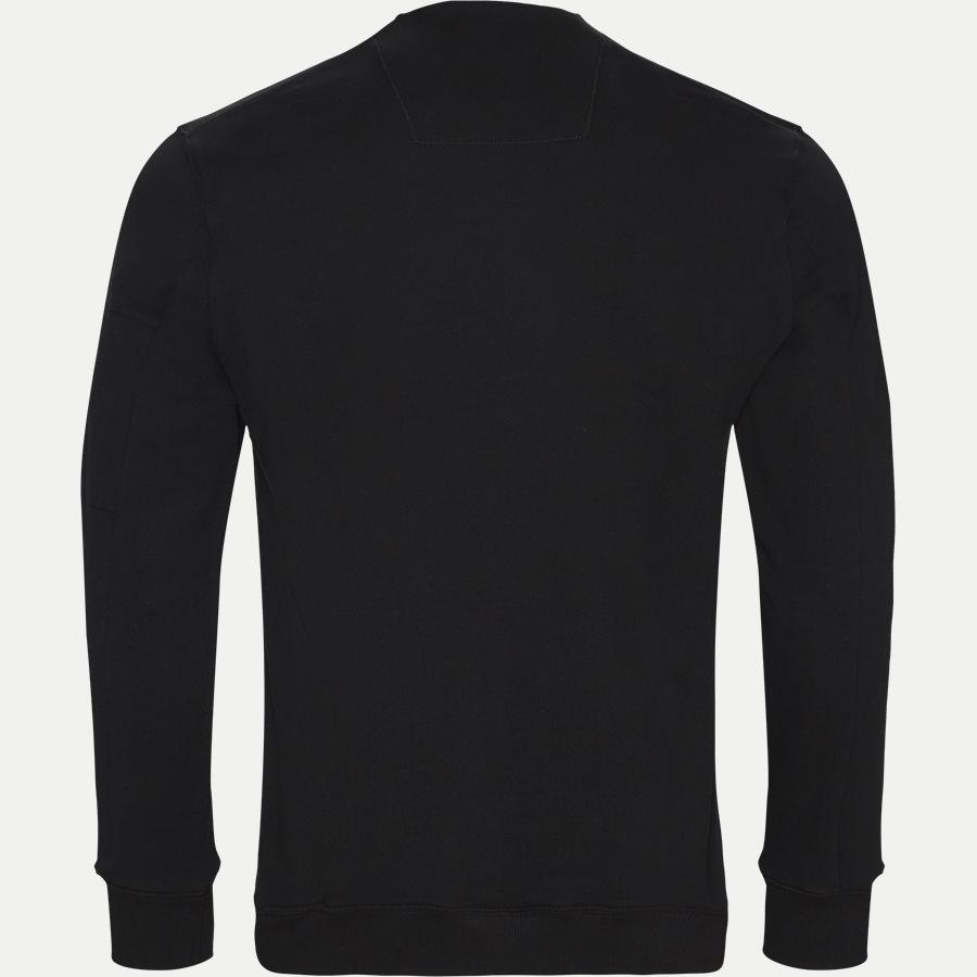 SS209A 005160W - Crew Neck Diagonal Fleece Sweatshirt - Sweatshirts - Regular fit - SORT - 2