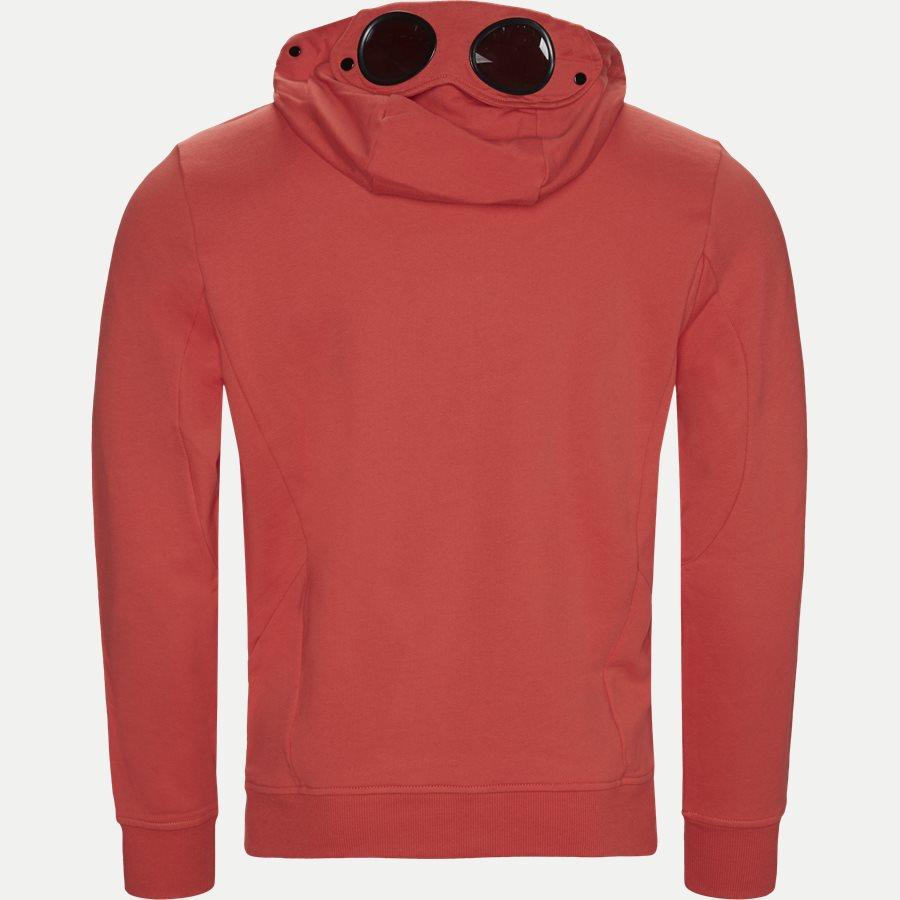 SS009A 005160W - Hooded Open Diagonal Fleece Sweatshirt  - Sweatshirts - Regular - RØD - 2