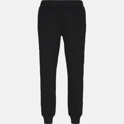 Diagonal Fleece Sweatpants Regular fit   Diagonal Fleece Sweatpants   Sort