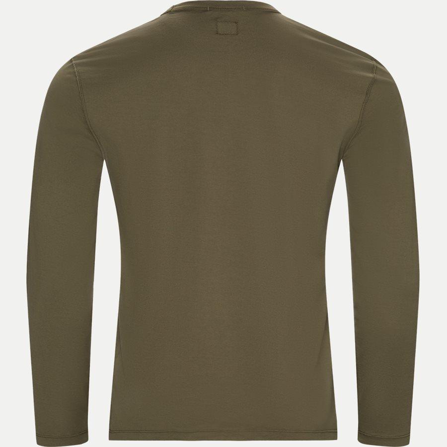 TS055A 000444G - Long Sleeve Mako' Jersey T-shirt - T-shirts - Regular - OLIVEN - 2