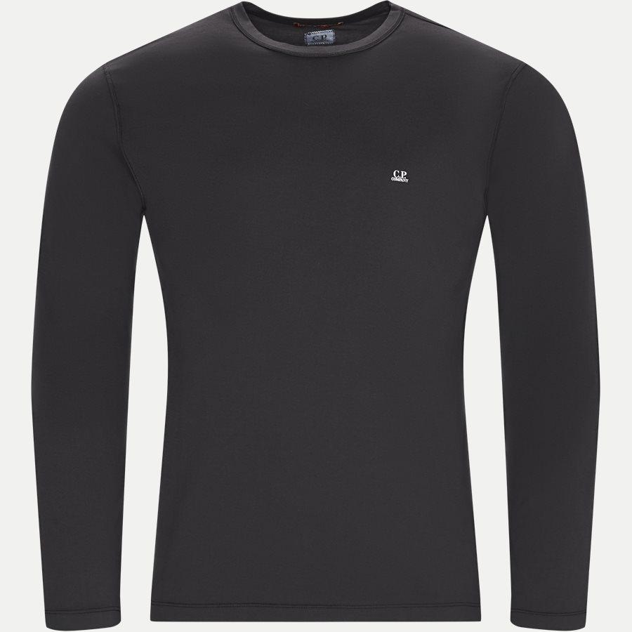 TS055A 000444G - Long Sleeve Mako' Jersey T-shirt - T-shirts - Regular - SORT - 1