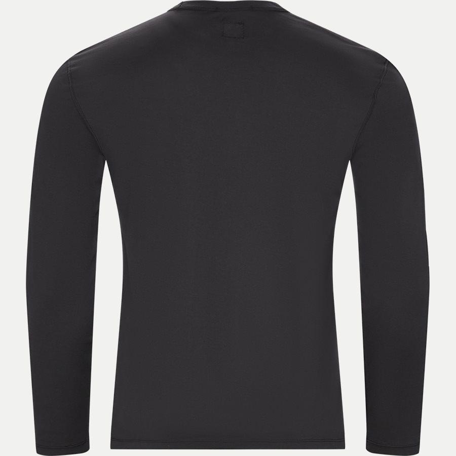 TS055A 000444G - Long Sleeve Mako' Jersey T-shirt - T-shirts - Regular - SORT - 2