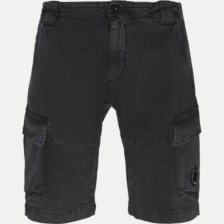 BE105A 005370S - Bermuda Cargo Stretch Garbardine Shorts - Shorts - Regular - SORT - 1