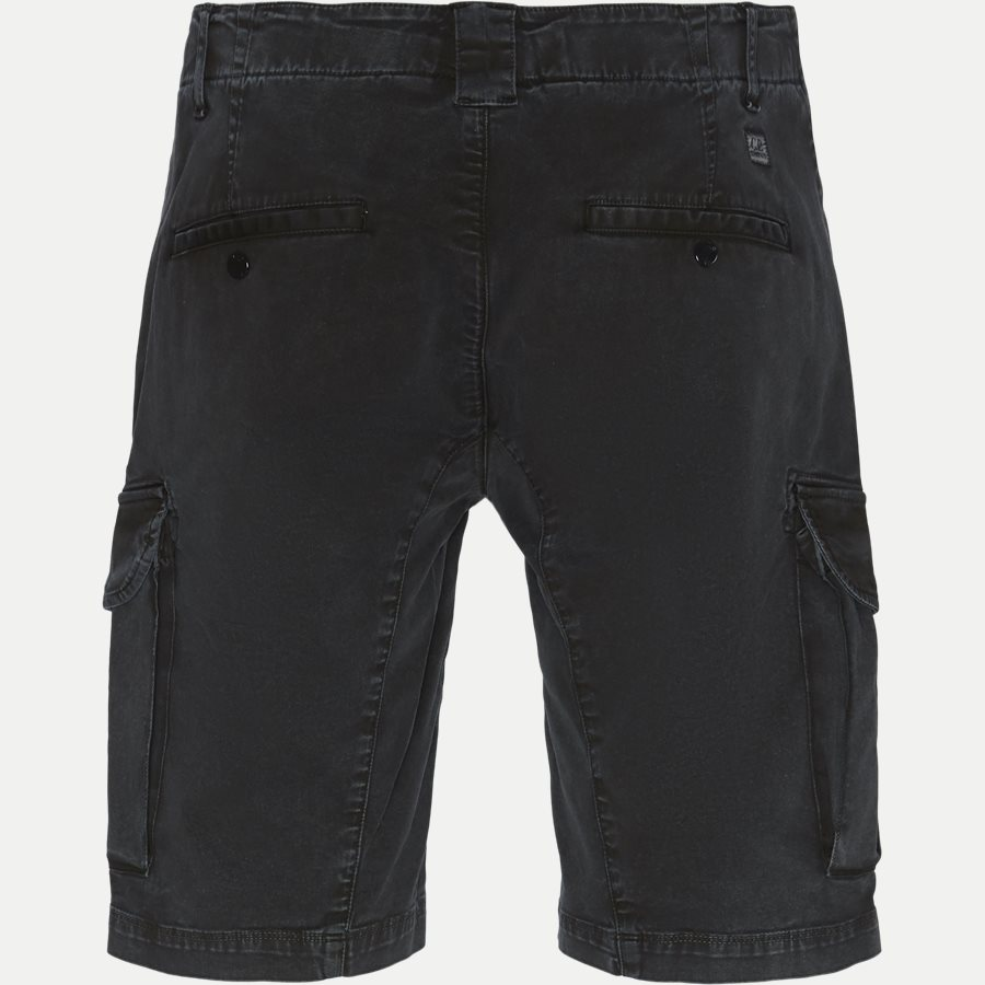 BE105A 005370S - Bermuda Cargo Stretch Garbardine Shorts - Shorts - Regular - SORT - 2