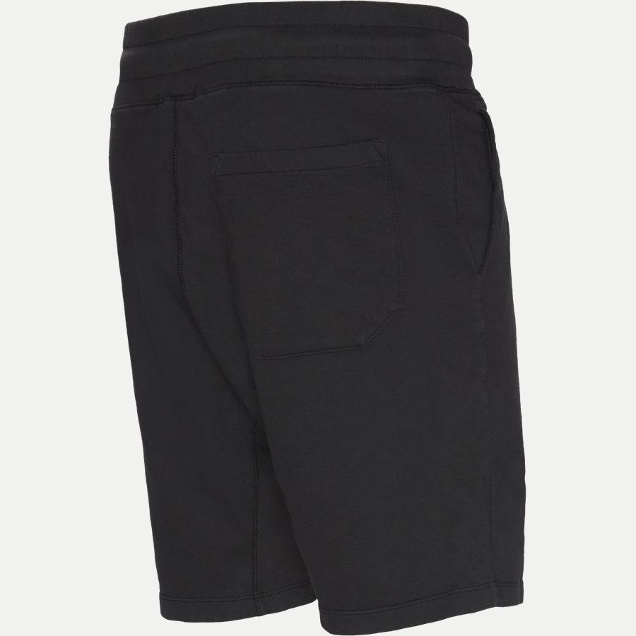 SS165A 002246G - Sweat Bermuda Light Fleece Shorts  - Shorts - Casual fit - SORT - 3