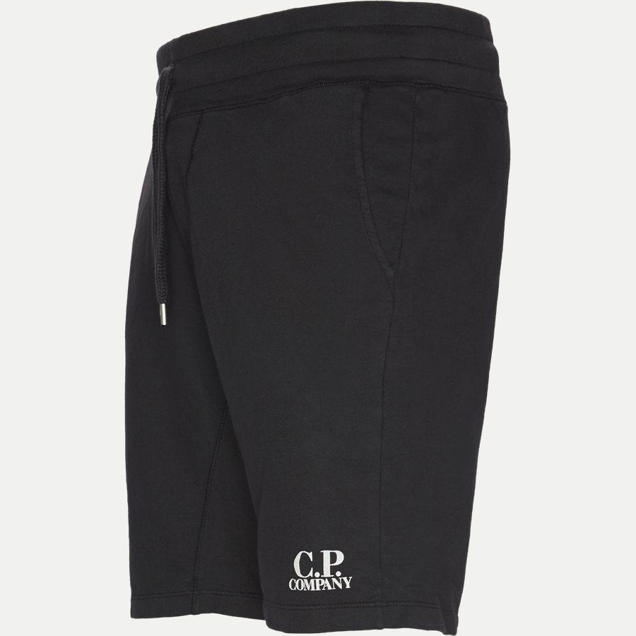 SS165A 002246G - Sweat Bermuda Light Fleece Shorts  - Shorts - Casual fit - SORT - 4