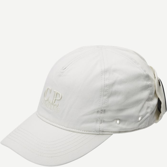 Baseball Cap Gabardine - Caps - Hvid
