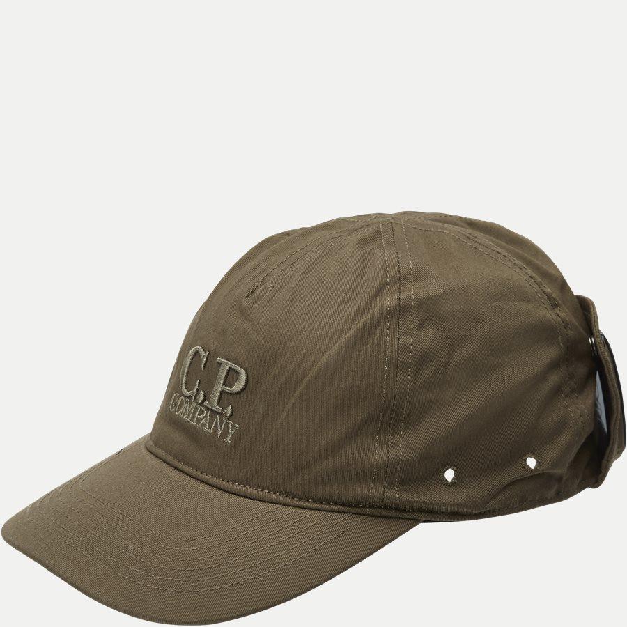 AC093A 005279A - Baseball Cap Gabardine - Caps - OLIVEN - 1