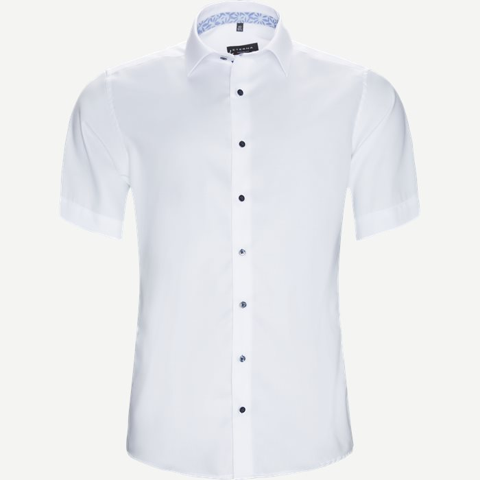 8466 Skjorte - Kortærmede skjorter - Modern fit - Hvid
