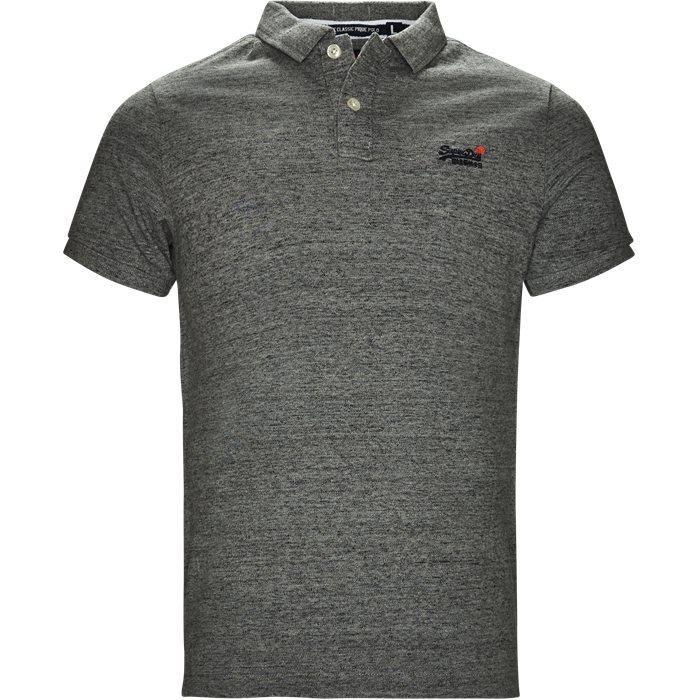 M11005NS Polo - T-shirts - Regular fit - Grå