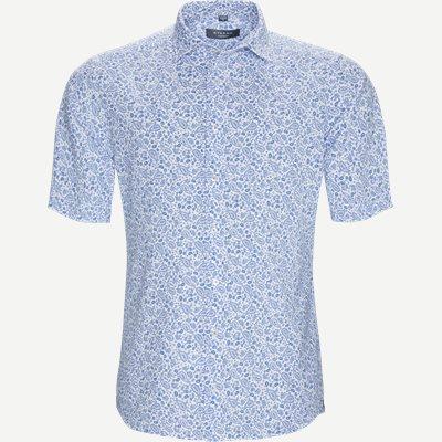 3758 Kortærmet Skjorte Modern fit | 3758 Kortærmet Skjorte | Blå