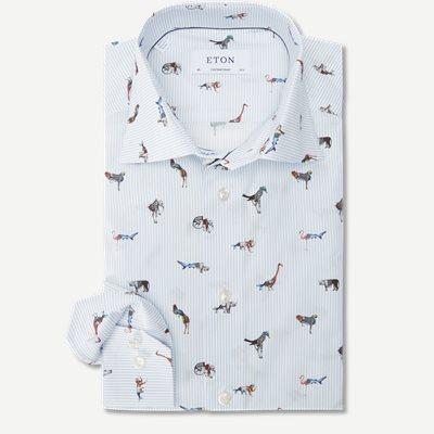 2145 Poplin Skjorte 2145 Poplin Skjorte | Blå