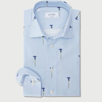 2144 Poplin Skjorte 2144 Poplin Skjorte | Blå