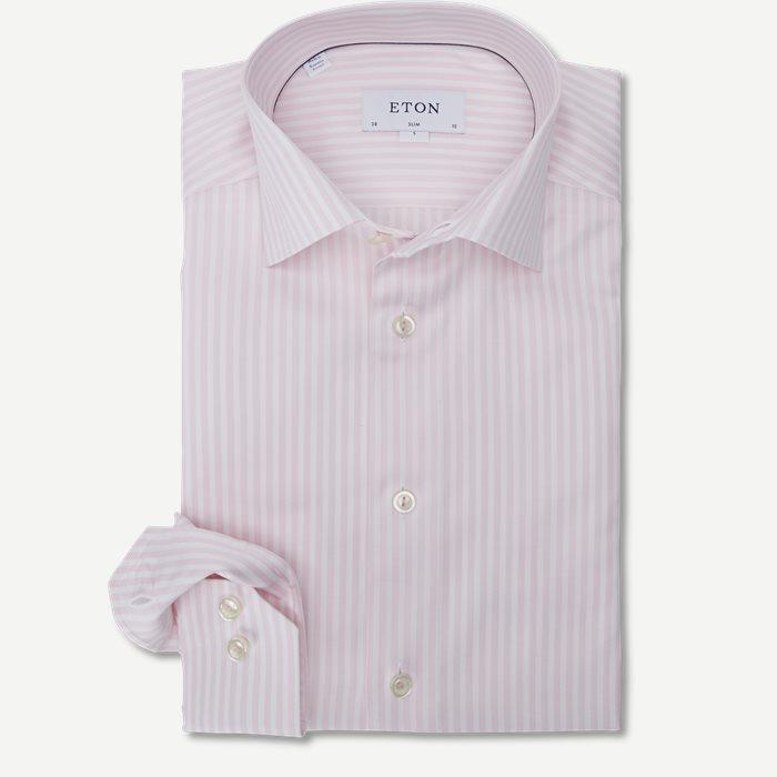 2055 Poplin Skjorte - Skjorter - Pink