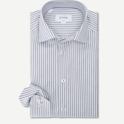 2055 Poplin Skjorte 2055 Poplin Skjorte | Blå