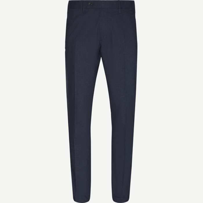 New Theo 1229 Chinos - Bukser - Slim - Blå