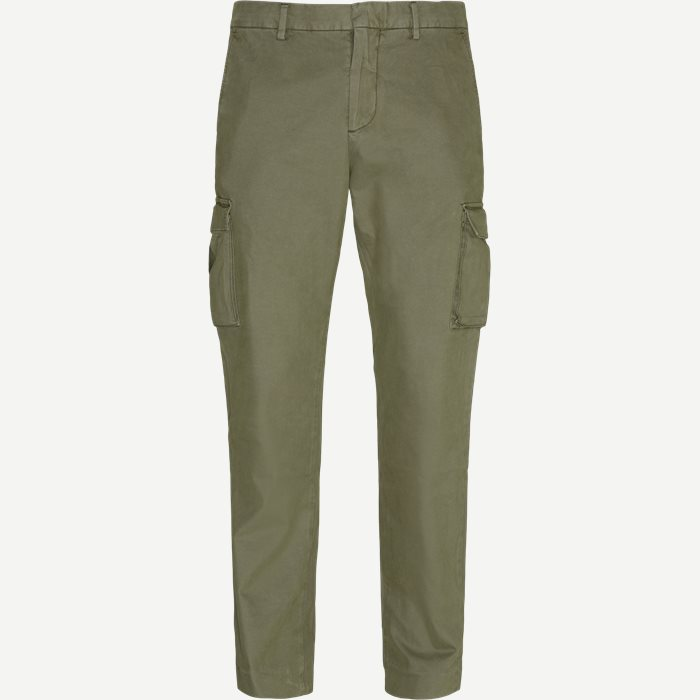 Django Pants - Bukser - Regular - Army