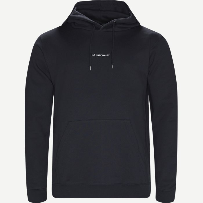 Barrow Hoodie - Sweatshirts - Regular - Blå