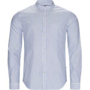 Eska Skjorte Slim | Eska Skjorte | Blå