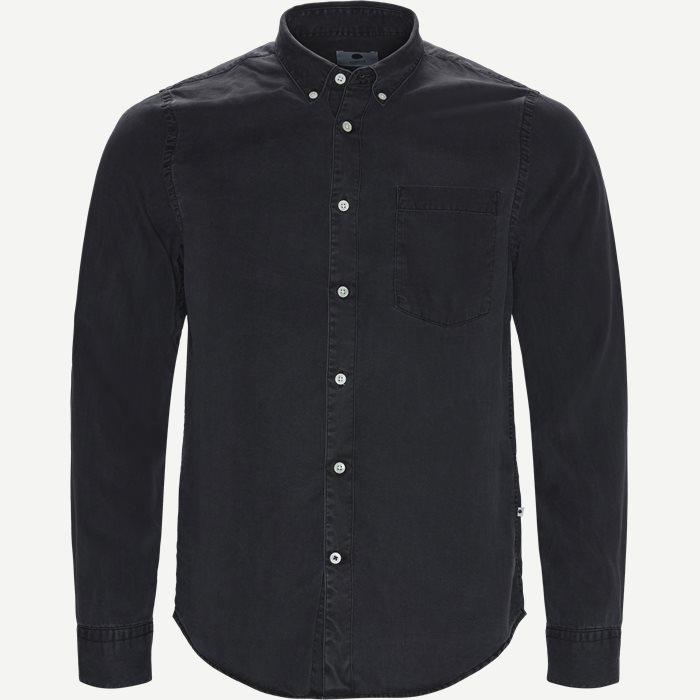 Falk 5769 Skjorte - Skjorter - Slim - Sort