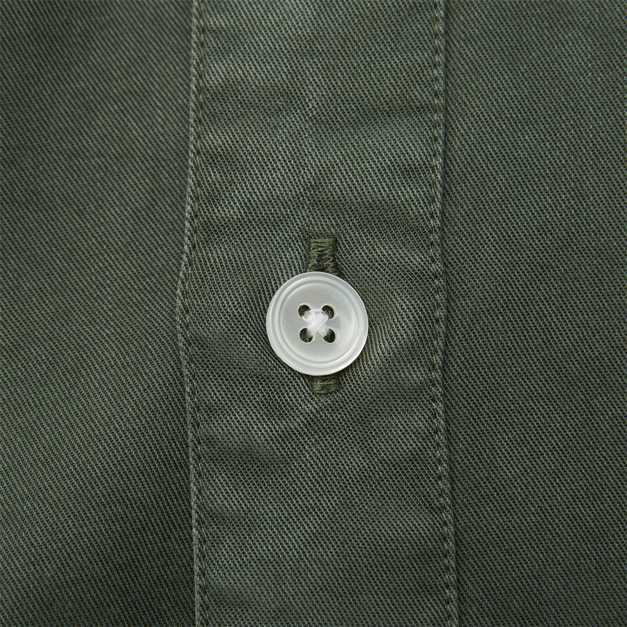 FALK 5969 - Falk Skjorte - Skjorter - Regular - ARMY - 4