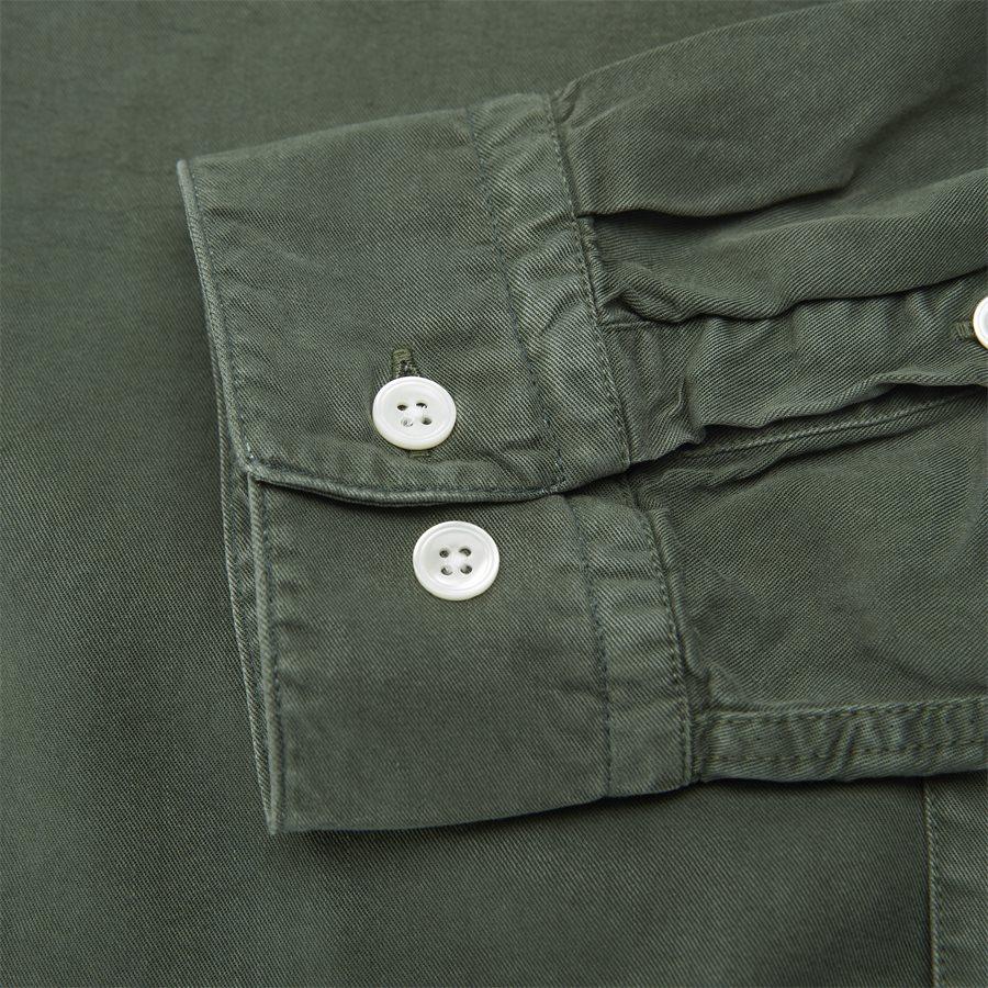 FALK 5969 - Falk Skjorte - Skjorter - Regular - ARMY - 6