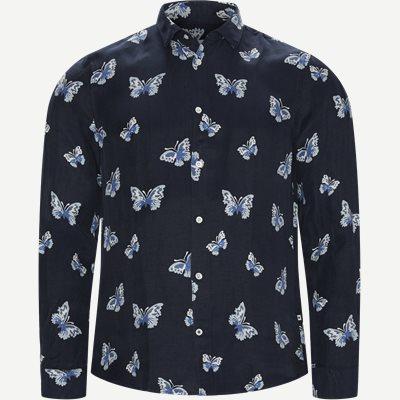 Morgan Skjorte Regular   Morgan Skjorte   Blå