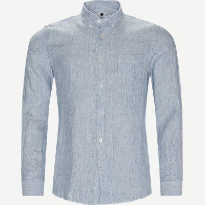 Falk 5100 Skjorte Slim   Falk 5100 Skjorte   Blå