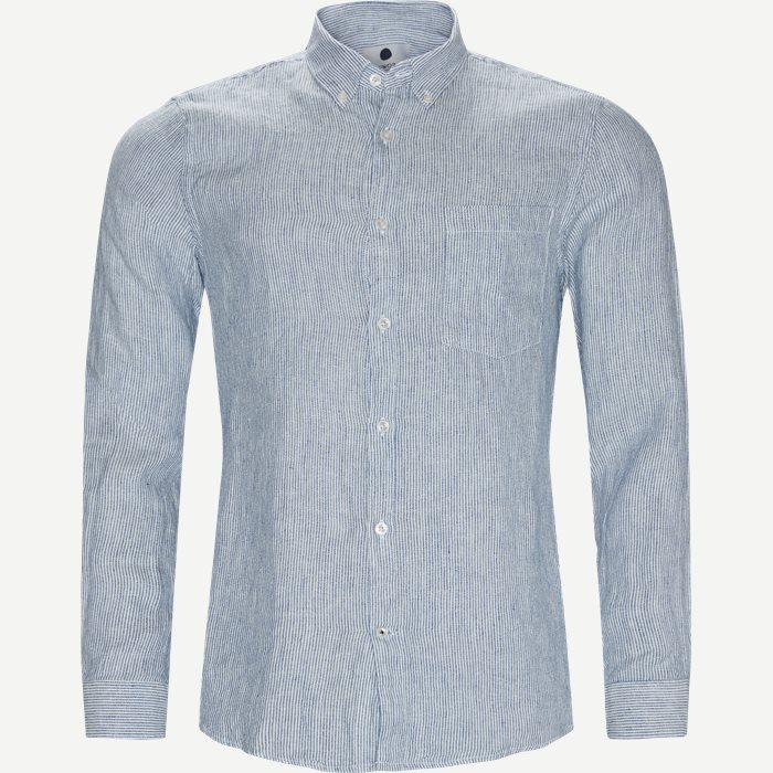 Falk 5100 Skjorte - Skjorter - Slim - Blå
