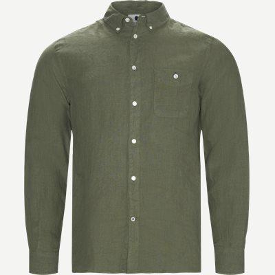New Derek Skjorte Regular | New Derek Skjorte | Grøn